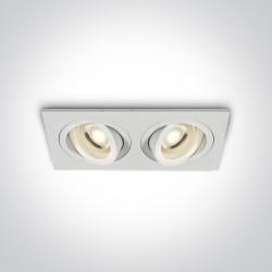 One Light podwójna lampa LED Glafira 51205ABG/W