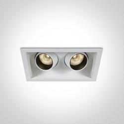One Light podwójna lampa LED Proti 51206M/W/W