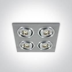 One Light wpust LED x4 Neochori 4 51401AL/W/15