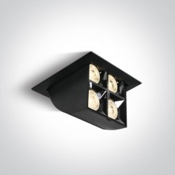 One Light wysuwana lampa LED czarna Namata 51406B/B/W