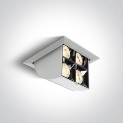 One Light wysuwana lampa LED czarna Namata 51406B/W/W