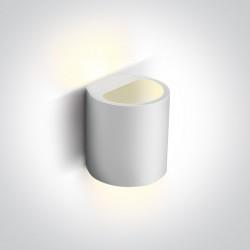 One Light kinkiet ozdobny biały Aigani 60040