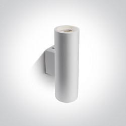 One Light kinkiet ścienny biały Melia 60054