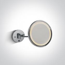 One Light kinkiet do łazienki lustro Giromeri 60204/C IP44