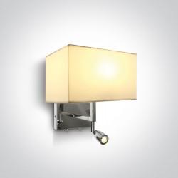 One Light lampa ścienna do hotelu Selefkia 61044/C/W
