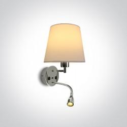 One Light lampa ścienna hotelowa Milea 61080/C/W