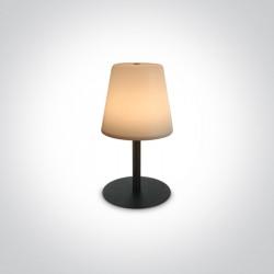 One Light bezprzewodowa lampa stołowa Grewena 61084/B IP44