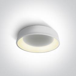 One Light biały plafon LED Aidoni 2 62132N/W/W
