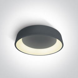 One Light plafon LED antracytowy Aidoni 3 62142N/AN/W