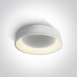 One Light plafon LED biały Aidoni 3 62142N/W/W