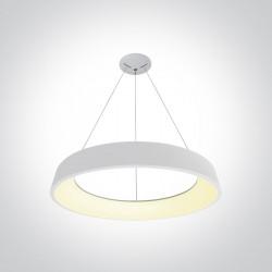 One Light plafon wiszący Pteri 62142NB/W/W