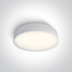 One Light plafon biały Arillas 3 62150D/W/C