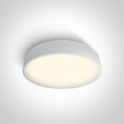 One Light plafon biały Arillas 3 62150D/W/W