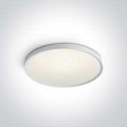 One Light plafon biały slim Afroxilia 62152/W/C