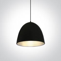 One Light lampa wisząca szara Koufalos 63016A/B/G