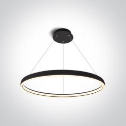 One Light stylowy wiszący pierścień LED Dolcedo 2 63050/B