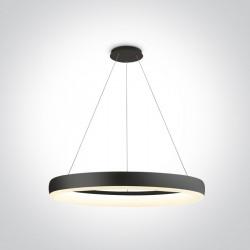 One Light lampa wisząca LED Vitoli 63114/B/W
