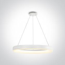 One Light lampa wisząca LED Vitoli 63114/W/W