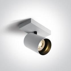 One Light kinkiet retro biały Elatos 65105N/W