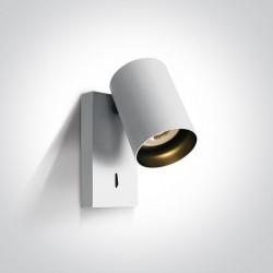 One Light kinkiet ozdobny biały Elatos K 65105NA/W