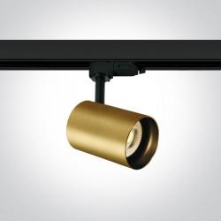 One Light reflektor ozdobny na szynę Kopseika 65105NT/BBS
