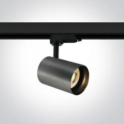 One Light reflektor ozdobny na szynę Kopseika 65105NT/MG