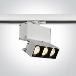 One Light reflektor LED na szynę Elliniko 65306BT/W/W
