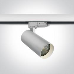 One Light reflektor na szynę Fyllo 65522T/W