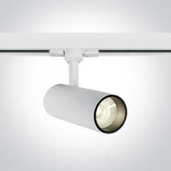 One Light biały reflektor na szynę Skalitina 65642AT/W/C