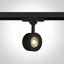 One Light reflektor LED czarny 8W Kinigos 65644T/B/W