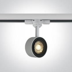 One Light reflektor LED biały 8W Kinigos 65644T/W/W