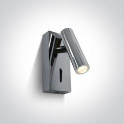 One Light lampa nocna z regulacją Kandila 65746/C/W