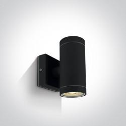 One Light kinkiet czarny Lido K2 67130/B IP54