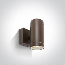 One Light kinkiet brąz Lido K2 67130/BR IP54