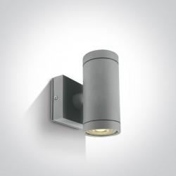 One Light kinkiet szary Lido K2 67130/G IP54