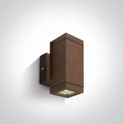One Light kinkiet zewnętrzny Avoros K2 67130A/BR IP54