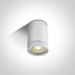 One Light lampa sufitowa biała Lido 67130C/W IP54