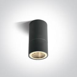 One Light lampa sufitowa antracytowa Zovo C 67130CD/AN IP54