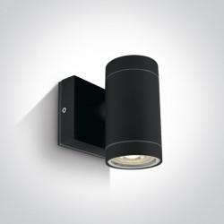 One Light kinkiet czarny Lido K1 67130E/B IP54