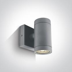 One Light kinkiet szary Lido K1 67130E/G IP54