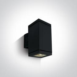 One Light kinkiet zewnętrzny czarny Stromi K2 67132A/B IP54