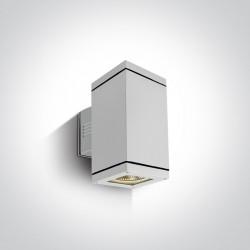 One Light kinkiet zewnętrzny biały Stromi K2 67132A/W IP54