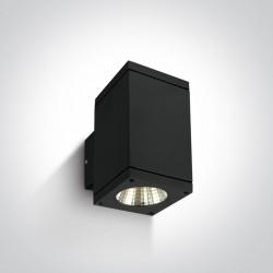 One Light kinkiet kostka antracyt Drymaia 67138A/B/W IP54