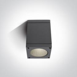 One Light lampa stropowa zewnętrzna Apostoli 67138D/AN/W IP54