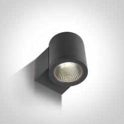 One Light kinkiet zewnętrzny Mavrogeia 67138E/AN/W IP54