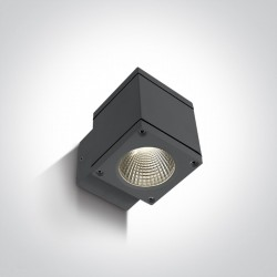 One Light kinkiet kostka zewnętrzny Pavlos 67138F/AN/W IP54