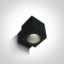 One Light kinkiet kostka zewnętrzny Pavlos 67138F/B/W IP54