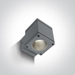 One Light kinkiet kostka zewnętrzny Pavlos 67138F/G/W IP54