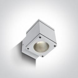 One Light kinkiet kostka zewnętrzny Pavlos 67138F/W/W IP54