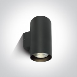 One Light stylowy kinkiet zewnętrzny Romeiko 2 67138L/AN/C IP65